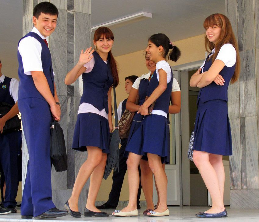 uniform in public school
