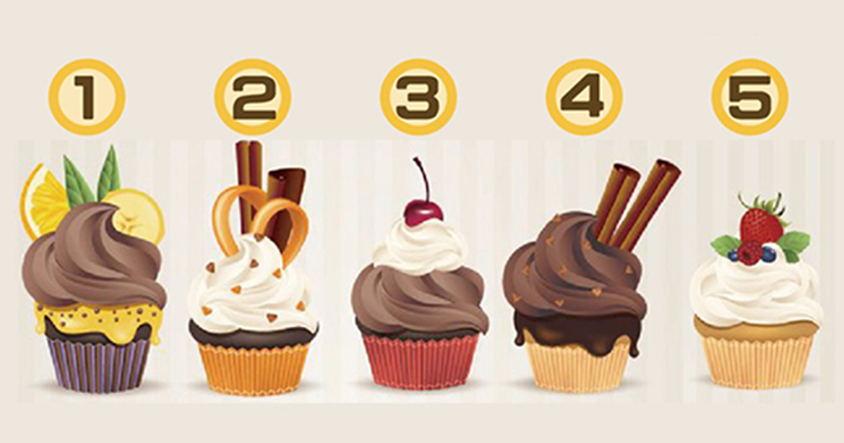 Your choice of cupcake flavour will predict your love life and how