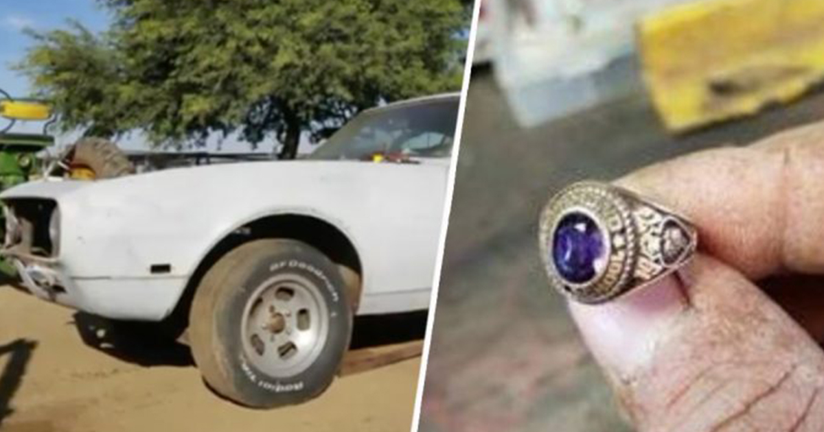 A Man Is Restoring A 50 Year Old Camaro, But When He Finds A Ring On The  Floor, He Knows He Has To Track Down The Owner