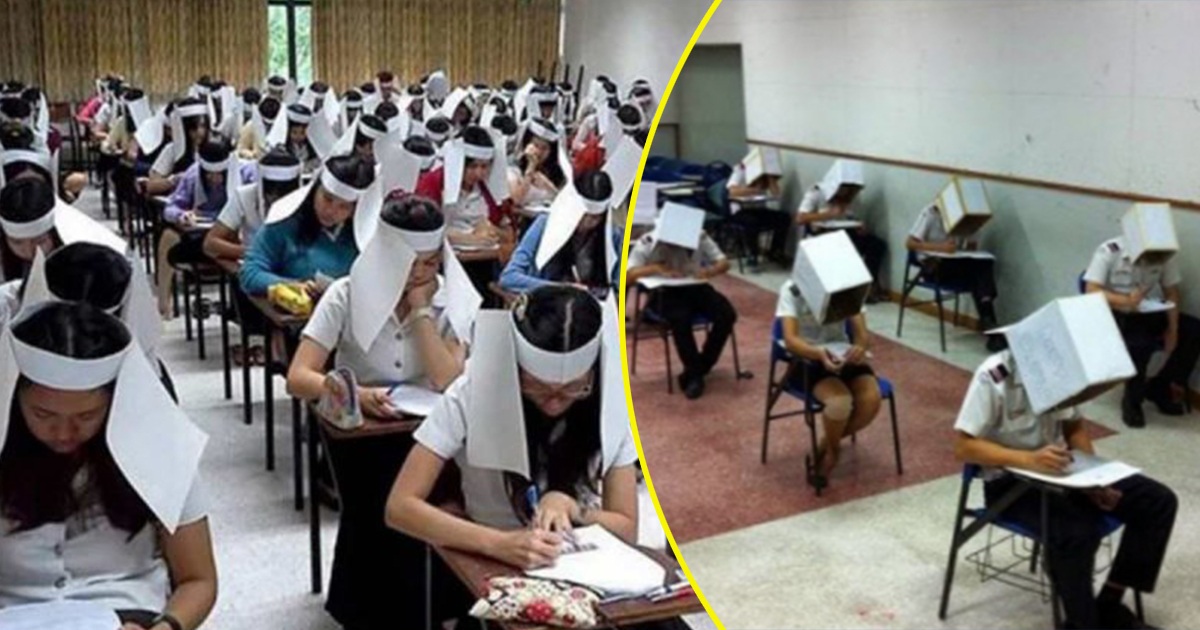 To avoid students from cheating in exams, these universities used