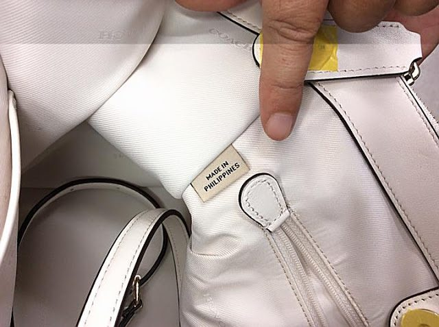 fbc755b305d133 But do you know that some of Coach handbags are actually produced in the  Philippines