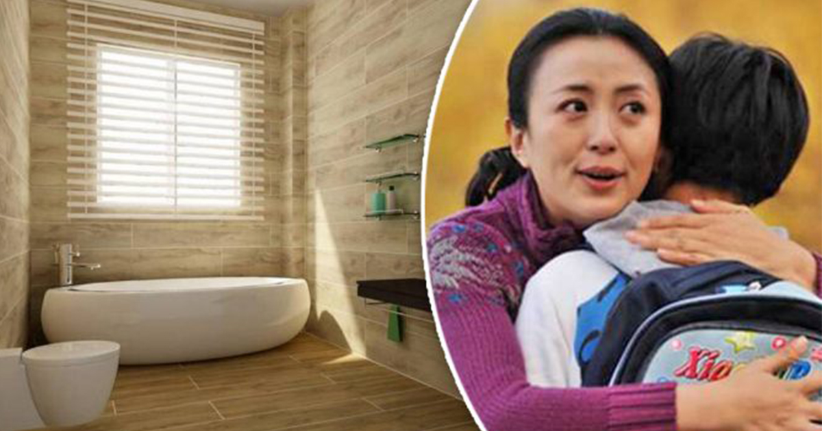 A Maid Who Worked For A Tycoon Asked Her Son To Eat In A Bathroom - Bathroom maid