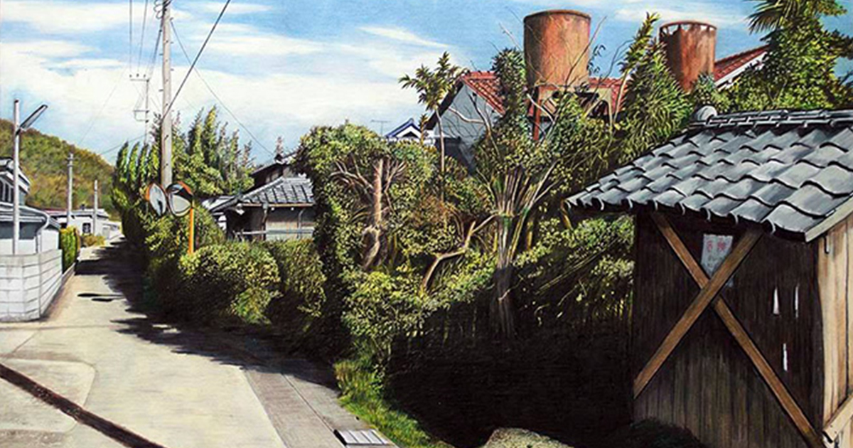 This artist used only colour pencils to draw 3D scenery! You