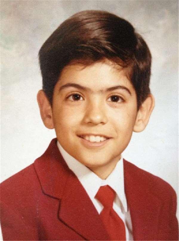 George sewaktu kecil