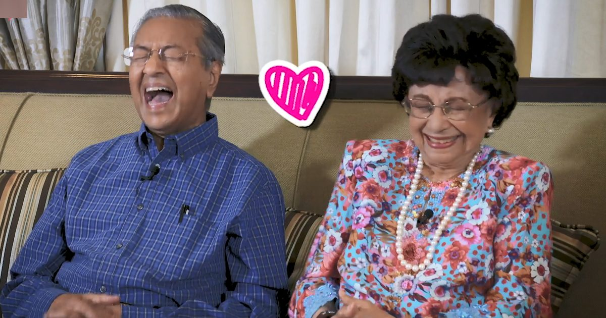 Image result for mahathir and wife