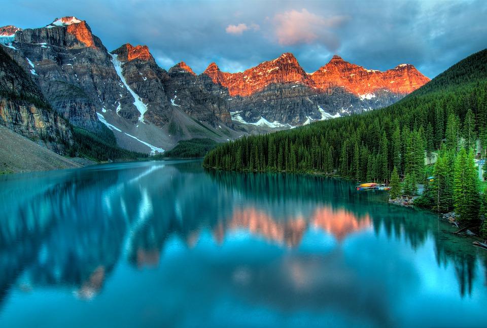 Keindahan alam di Kanada