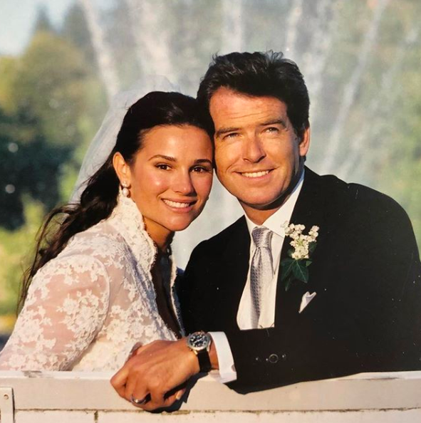 James Bond star Pierce Brosnan and his wife are ultimate