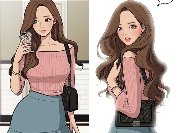 Author of popular webtoon finally showed her true beauty—she looks